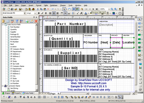 Aiag Shipping Labels Aiag Label Templates Download Free Software